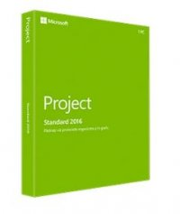 Microsoft | Z9V-00347 | Project 2016 Win English Medialess