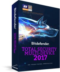 Bitdefender Total Security Multi-Device 2017, 5 PCs, 1 year, BOX Licenta noua