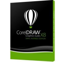 CORELDRAW GRAPHICS SUITE X8 SMALL BUSINESS EDITION EDITION - pachet 3 licente Corel Draw, English