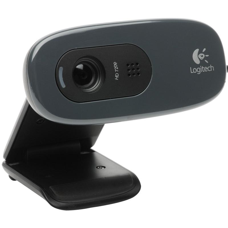 CAMERA WEB Logitech 'Quickcam C270', 1.3MP Sensor, Video: 1280 x 720 pixels (960-000636)