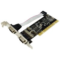 Card PCI adaptor la 2 x serial, Logilink (PC0016)