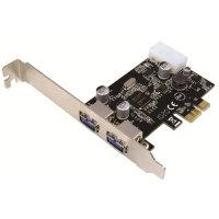 Card PCI-Express 1x Adaptor la 2x USB 3.0, 1x Molex, chipset NEC, LOGILINK (PC0054A)