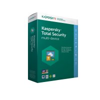 Kaspersky Total Security - Multi-Device European Edition. 3-Device 1 year Base License Pack