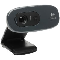 CAMERA WEB Logitech 'Quickcam C270', 1.3MP Sensor, Video: 1280 x 720 pixels (960-000636)