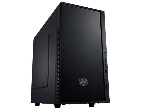 CARCASA COOLER MASTER  Silencio 352, mATX, 2x 120mm fan (inclus), antifonare, SD card reader, 2x USB 3.0, Black (SIL-352M-KKN1)