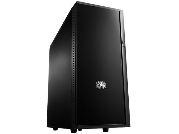 CARCASA COOLER MASTER  Silencio 452, ATX midi tower, 2x 120mm fan (inclus), antifonare, 2x USB 3.0, SD card reader, Black (SIL-452-KKN1)