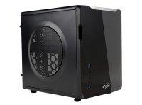 CARCASA SPIRE  mATX (CUBE), front USB 3.0 & audio, suport 1x 80mm fan, black, fara sursa (SPC710B-CE/R-2U3)