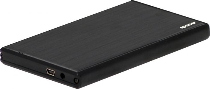 Rack extern 2.5' Spacer SPR25621 SATA la USB 2.0 Negru