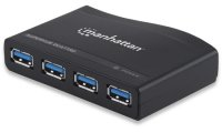 Hub SuperSpeed USB 3.0 4-port Manhattan, AC Power