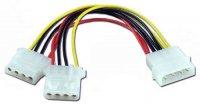 Spliter cablu alimentare intern, 5.25' Molex la 2x 5.25' Molex