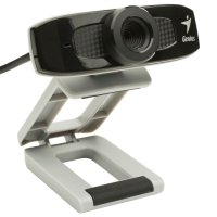 Camera web Genius FaceCam 320, Sensor CMOS 0.3Mp, Video: 640x480 pixels, microfon