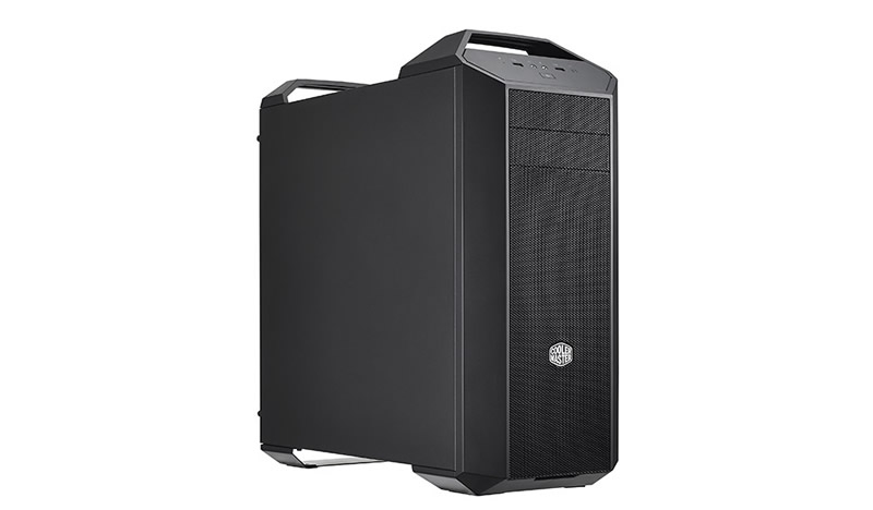 CARCASA COOLER MASTER. MasterCase 5, window version, mid-tower, ATX, 2* 140mm fan (inclus), I/O panel, black (MCX-0005-KWN00)