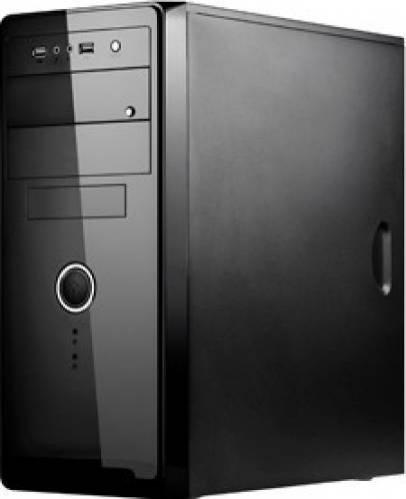 CARCASA SPIRE ATX, front USB & audio, suport 2x 80mm fan, black, fara sursa (SP1072B)