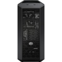 CARCASA COOLER MASTER. MasterCase Pro 5, mid-tower, ATX, 3* 140mm fan (inclus), I/O panel, side window, black (MCY-005P-KWN00)