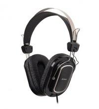 Casti cu microfon A4TECH HS-200 profesionale cu fir de 2m, 2xjack 3.5mm, sensibilitate 97dB, design Quadrate-Ear-Cushion si banda de sustinere extensibila