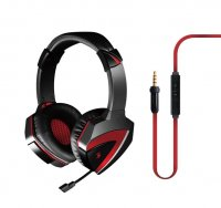 Casca A4TECH  Bloody gaming, microfon pe fir, control volum pe casca (G500)