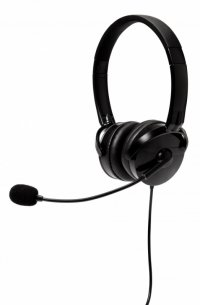 Casti Verbatim 'On-ear Multi Media Stereo Headset' + microfon black (49123)
