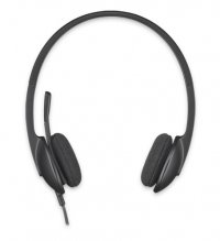 CASCA Logitech  'H340' Stereo Headset with Microphone (981-000475)