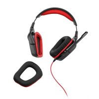 CASCA Logitech G230 USB Gaming Headset with Microphone (981-000540)