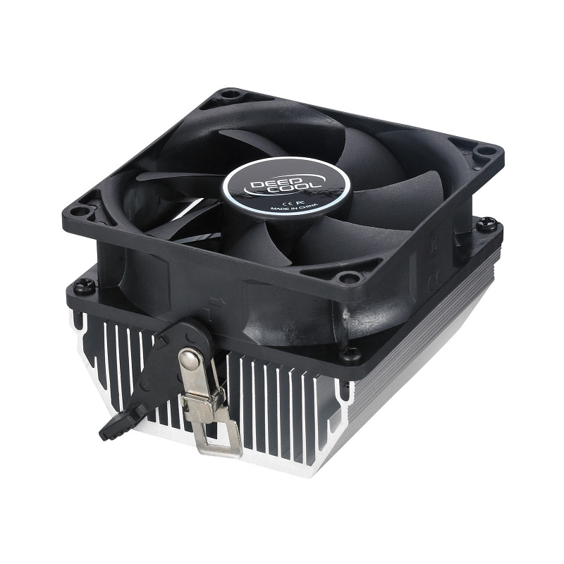 Cooler CPU DeepCool CK-AM209 skt AM2/AM2+/AM3, ventilator 80mm, aluminiu
