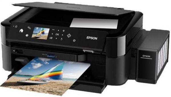 Imprimanta EPSON Multifuncionala Inkjet color L850   (C11CE31401)