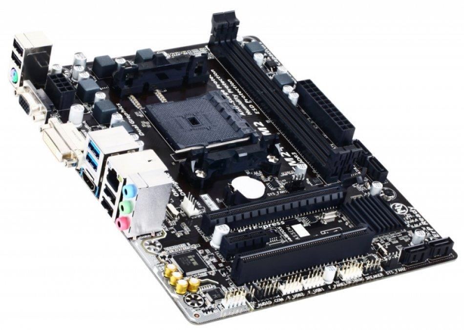 Placa de baza Gigabyte F2A68HM-HD2, socket FM2+, mATX