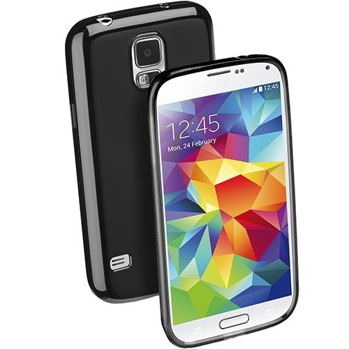 Husa Cellular Line Black Shocking Case pentru Samsung Galaxy S5 (SHCKGALS5BK)