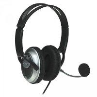 Casti stereo, Classic, Microphone, Volume Control, Black, Blister (175555)