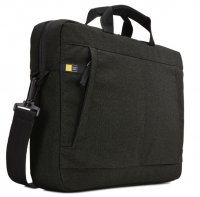Geanta ultrabook 14.1 Case Logic, buzunar interior 10.1', poliester, black (HUXA114K)