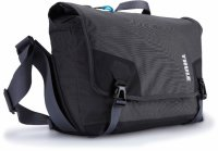 Geanta Thule Perspektiv Messenger for DSLR body + 15 MacBook, Gray (TPMB101)