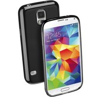Husa Cellular Line Black Shocking Case pentru Samsung Galaxy S5 (SHCKGALS5BK)