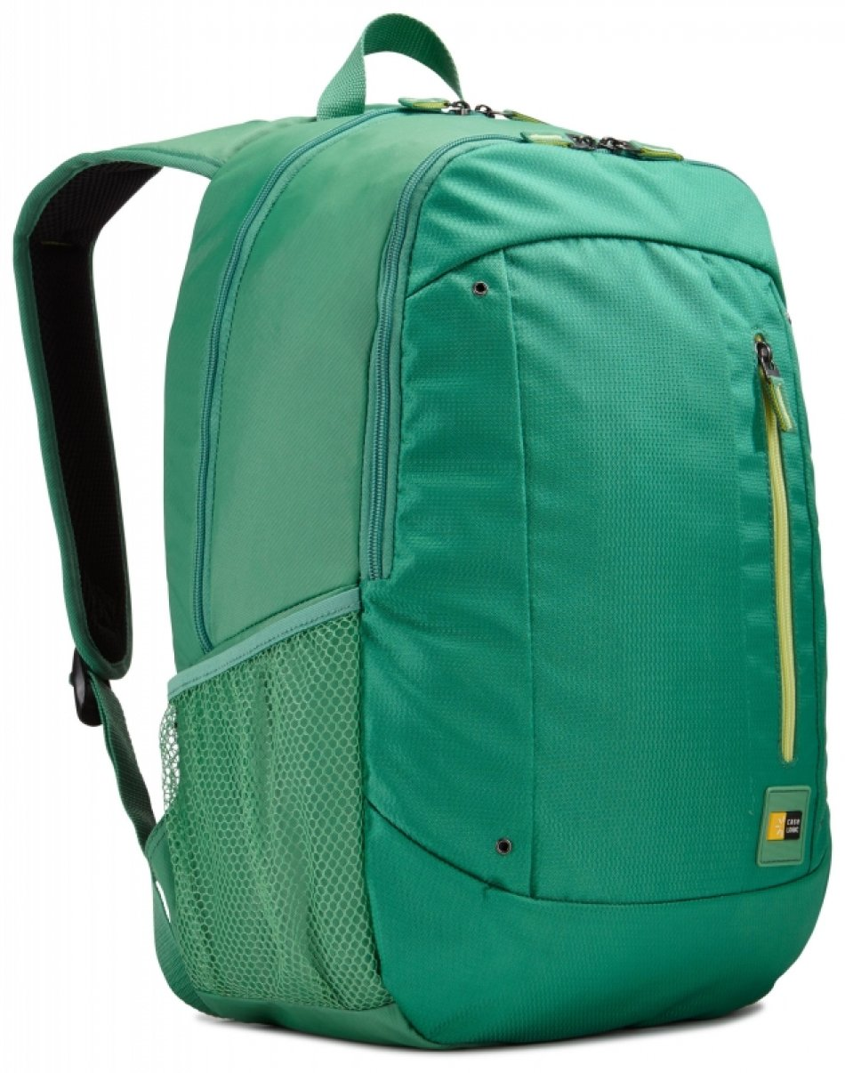 Rucsac laptop Case Logic Jaunt 15.6'', buzunar intern tableta, verde (WMBP115GKO)
