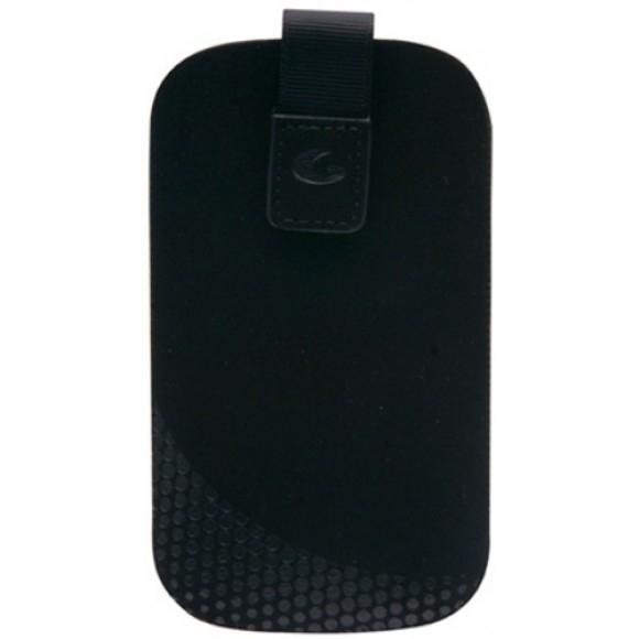 Husa teaca smartphone, inchidere cu velcro, large (TATTOSLLBK)