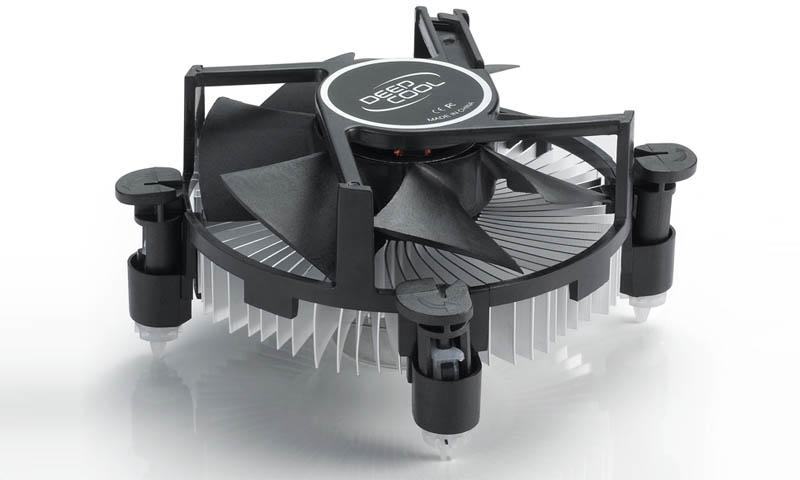 Cooler CPU DeepCool CK-11509, skt 1155/1150/775, aluminiu (CK-11509)