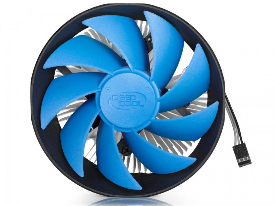 Cooler CPU DeepCool Gamma Archer, Universal, ventilator 120mm, aluminiu