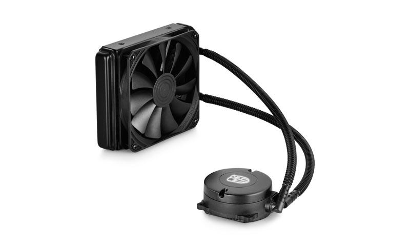 Cooler DEEPCOOL LICHID CPU, universal, soc LGA2011/1366/115x & FMx/AMx, AL+Cu+lichid,  fan 120x20mm, 150W (MAELSTROM 120K)
