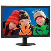 MONITOR PHILIPS 23' LED, 1920x1080, 5ms, 250cd/mp, vga+DVI+hdmi (233V5LHAB/00)