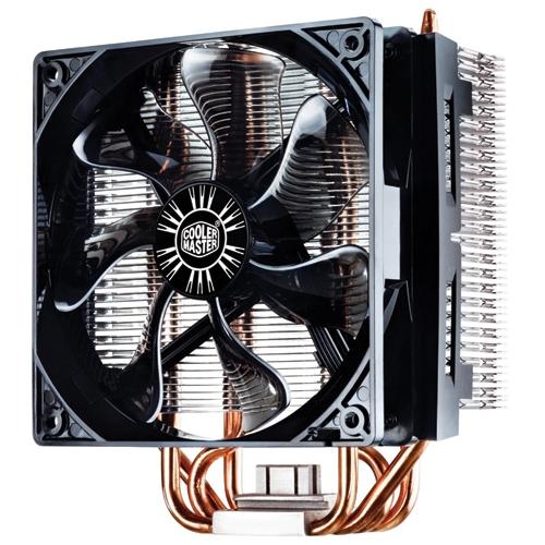 COOLER CPU COOLER MASTER Hyper 212 X, universal, soc. LGA 2011/1366/115x/775/FMx/AMx, Al-Cu, 4* heatpipe, 180W (RR-212X-17PK-R1)