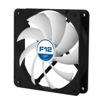 FAN FOR CASE ARCTIC  'F12' 120x120x25 mm, low noise FD bearing (AFACO-12000-GBA01)