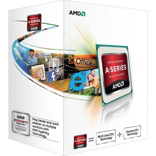 AMD A6-6400K 3.9GHz, socket FM2, BOX (AD640KOKHLBOX)