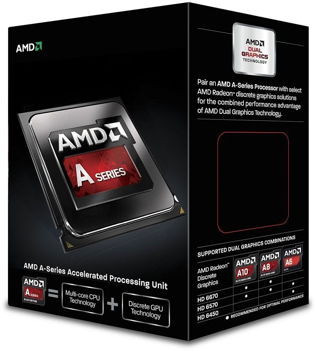 CPU AMD skt FM2 A6  X2 6420K 4.20/4.00GHz, 1MB cache,  65W, BOX (AD642KOKHLBOX)
