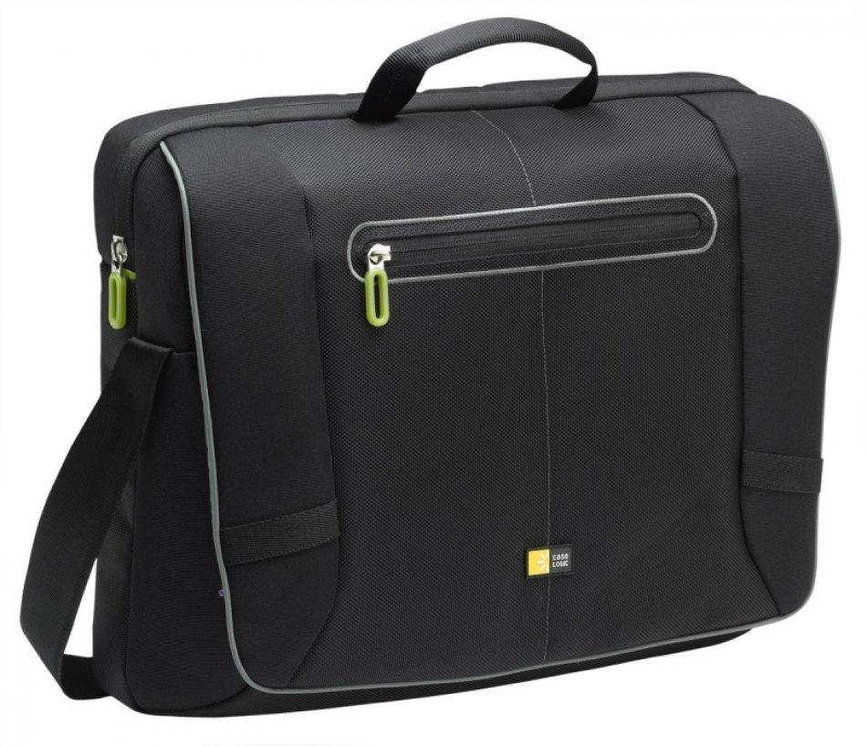 Geanta laptop Messenger 17'', black/green (PNM217K)