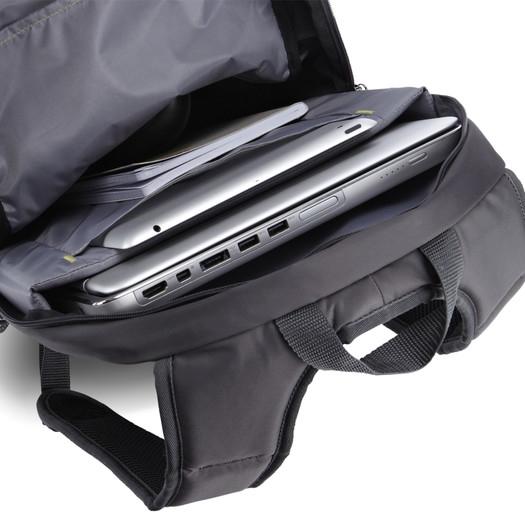 Rucsac 15.6' Laptop + Tablet Backpack , CaseLogic WMBP-115-BLACK (WMBP115K)
