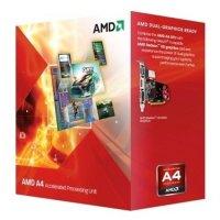 AMD FM2 A4  X2 4020 3.20/3.40GHz, 1MB cache,  65W, BOX (AD4020OKHLBOX)
