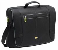 Geanta laptop Messenger 17'', black/green (PNM217K)