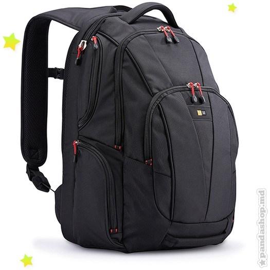 Rucsac laptop Case Logic profesional sport 15.6'', black (BEBP215K)