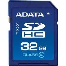 Secure Digital Card SDHC 32GB class10 ADATA (ASDH32GUICL10-R)