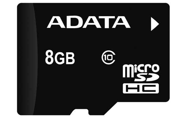 Secure Digital Card micro SDHC 8GB class10 ADATA (AUSDH8GUICL10-R)