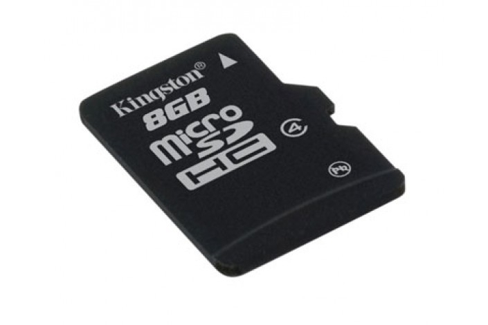 Secure Digital Card micro SDHC 8GB class 4 KINGSTON (SDC4/8GBSP)