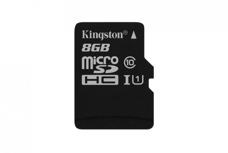 SECURE DIGITAL CARD MICRO 8G KINGSTON CLASS10 (SDC10G2/8GBSP)